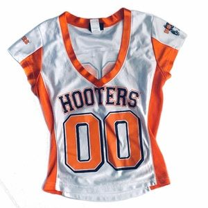 Authentic Hooters Football Jersey Top